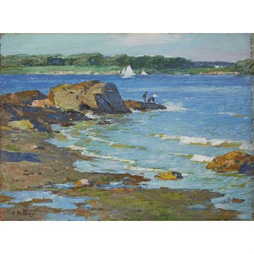 Lot 45 - Edward Henry Potthast (American, 1857-1927)