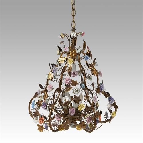 Lot 42 - Louis XV style chandelier