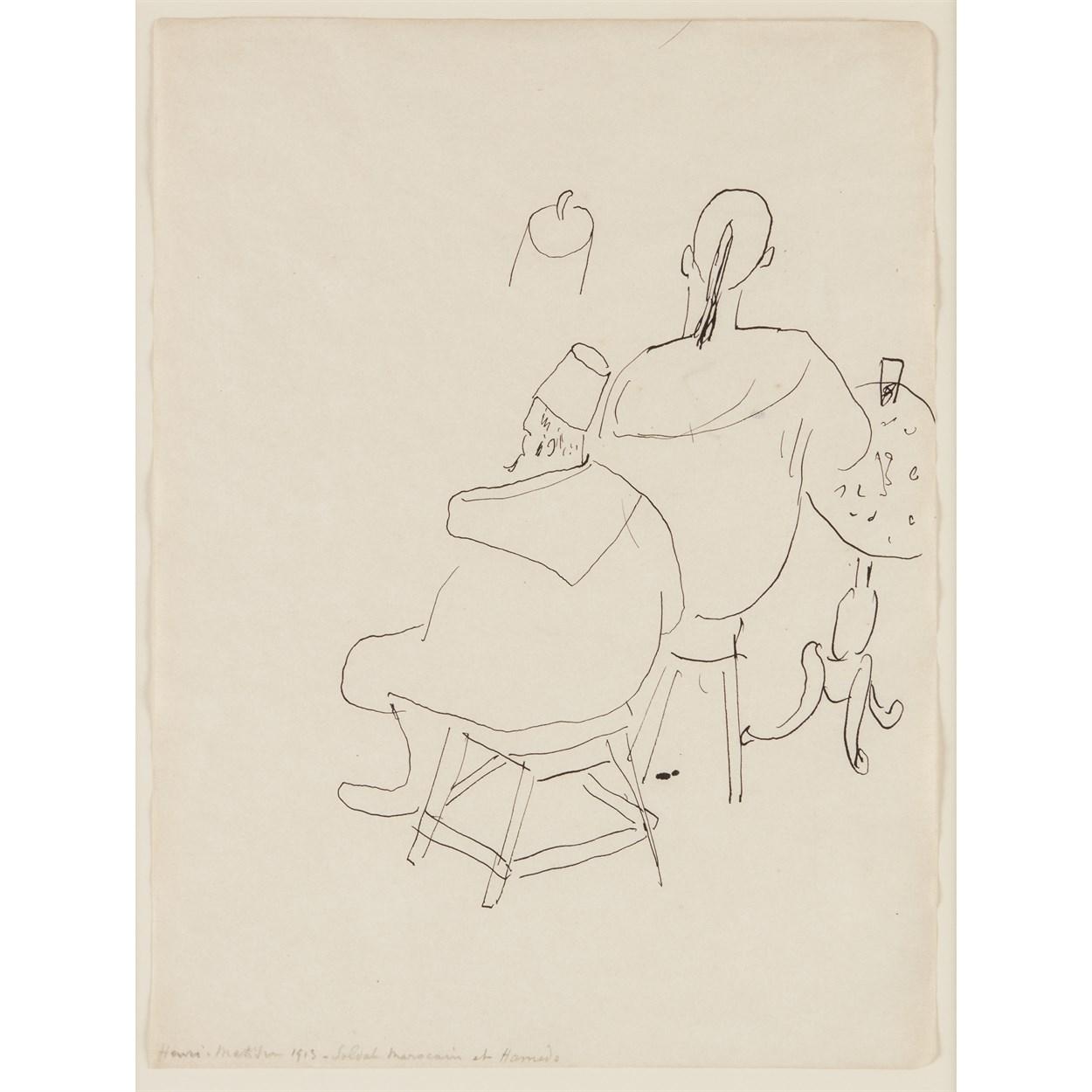 Lot 2 - Henri Matisse (French, 1869-1954)