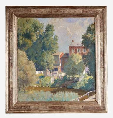 Lot 72 - Daniel Garber (American, 1880–1958)