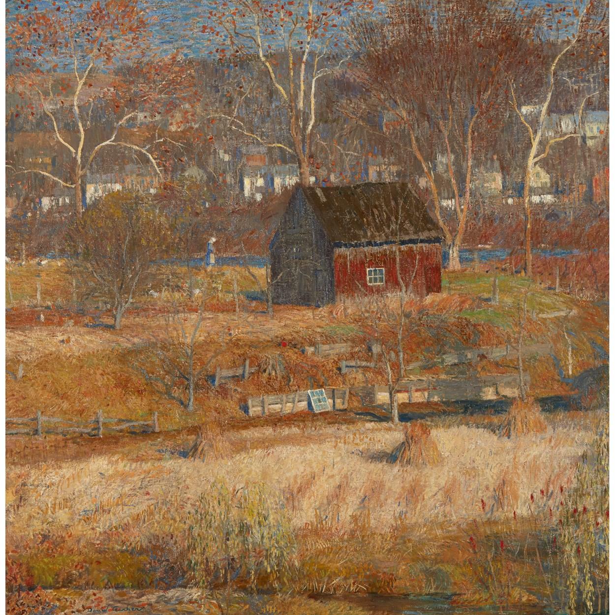 Lot 44 - Daniel Garber (American, 1880-1958)