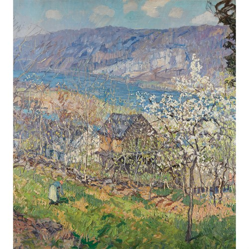 Lot 40 - Edward Willis Redfield (American, 1869–1965)