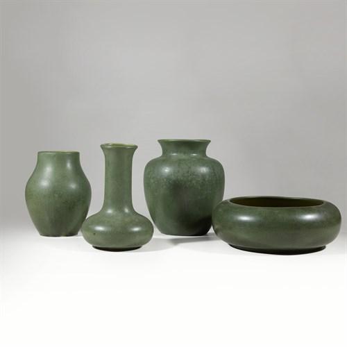 Lot 14 - Hampshire Pottery (American, 1871-1923)