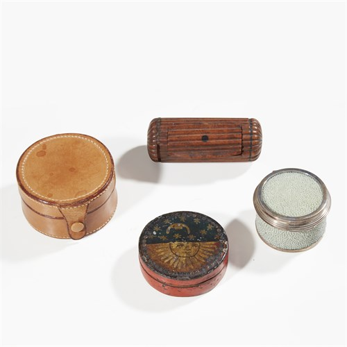 Lot 36 - Group of miscellaneous snuff boxes