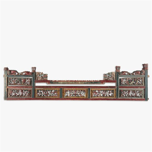 Lot 60 - Southeast Asian painted panel