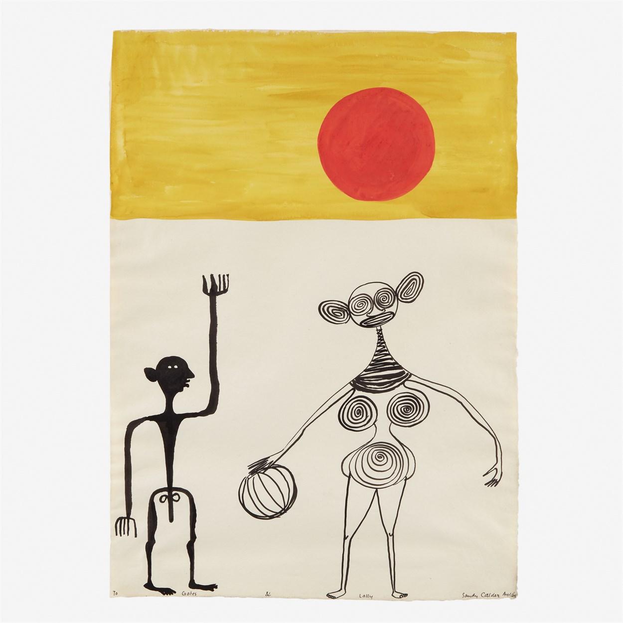 Lot 47 - Alexander Calder (American, 1898-1976)