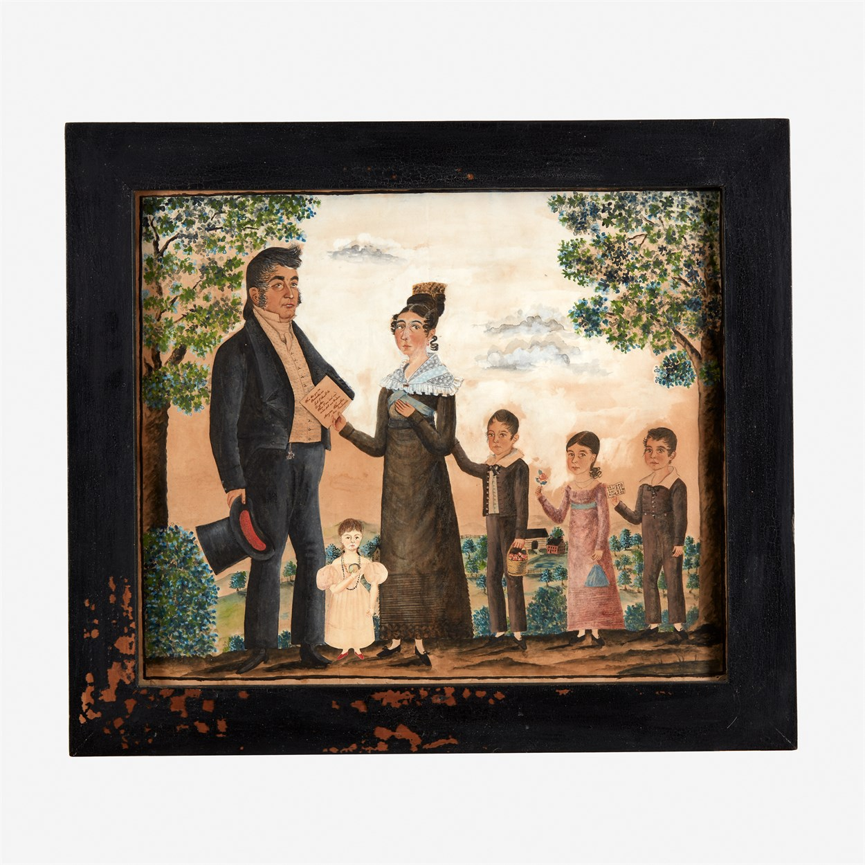 Lot 46 - Attributed to Jacob Maentel (1778-1863)