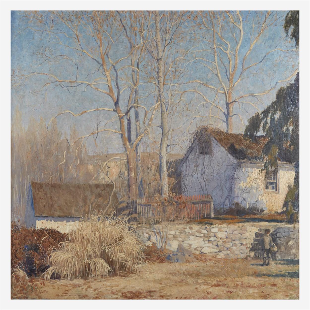 Lot 95 - Daniel Garber (American, 1880–1958)