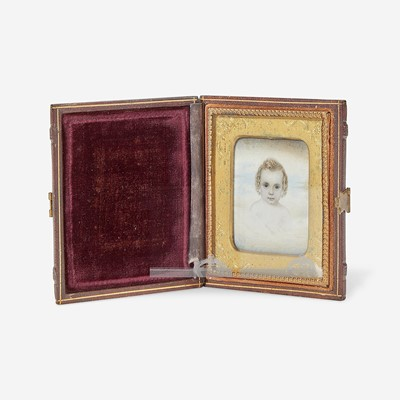 Lot 166 - Attributed to Mrs. Moses B. Russell (Clarissa Peters, 1809-1854)