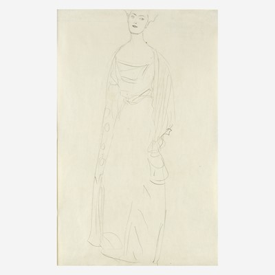 Lot 55 - Gustav Klimt (Austrian, 1862–1918)