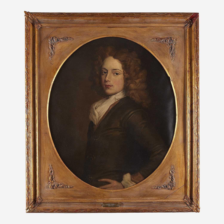 Lot 12 - Jefferson David Chalfant (1856-1931)  After Sir Godfrey Kneller (British, 1646-1723)