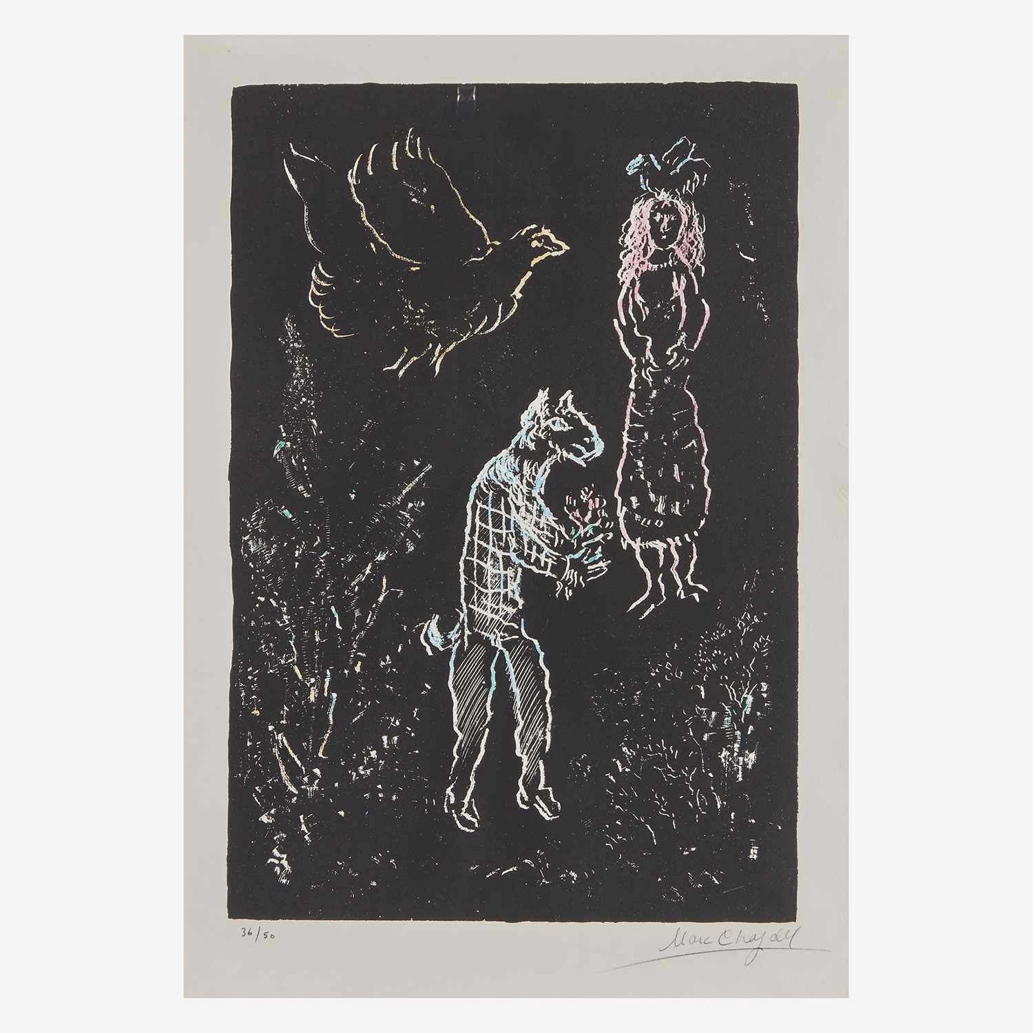 Lot 2 - Marc Chagall (French/Russian, 1887-1985)