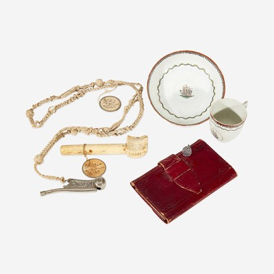 Lot 112 - A group of Marine related items