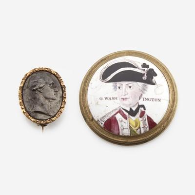 Lot 7 - A group of three George Washington associated items