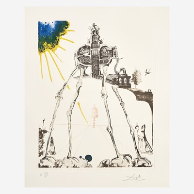 Lot 1 - Salvador Dalí (Spanish, 1904-1989)