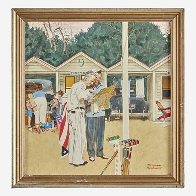 Lot 40 - Norman Rockwell (American, 1894–1978)