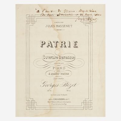Lot 29 - [Autographs & Manuscripts] Bizet, Georges