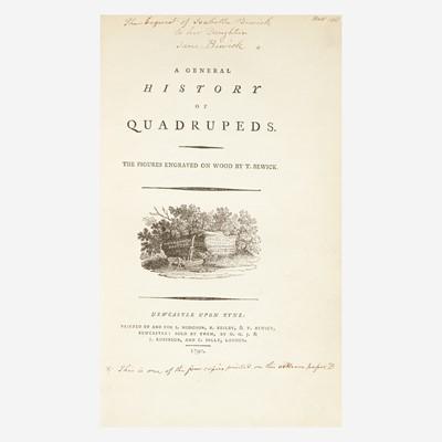 Lot 107 - [Printing] [Bewick, Thomas]