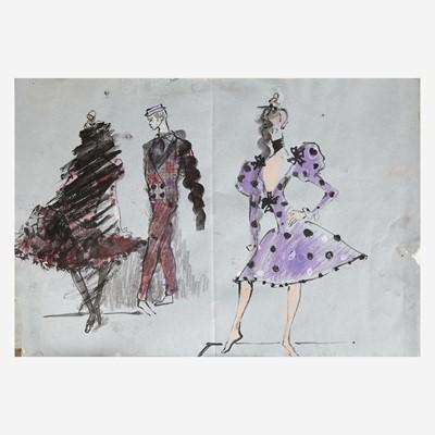 Lot 7 - Yves Saint Laurent (French, 1936-2008)