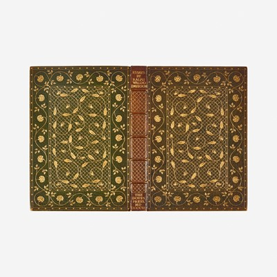 Lot 27 - [Fine Binding] [Adams, Katharine] Emerson, Ralph Waldo