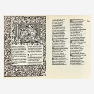 Lot 123 - [Private Press] [Kelmscott Press]