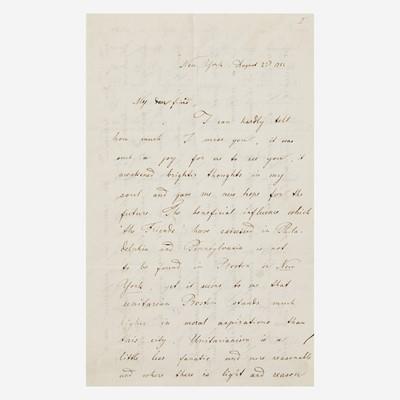Lot 19 - [Autographs & Manuscripts] [Mott, Lucretia]