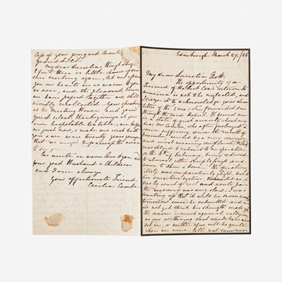 Lot 19 - [Autographs & Manuscripts] [Mott, Lucretia]