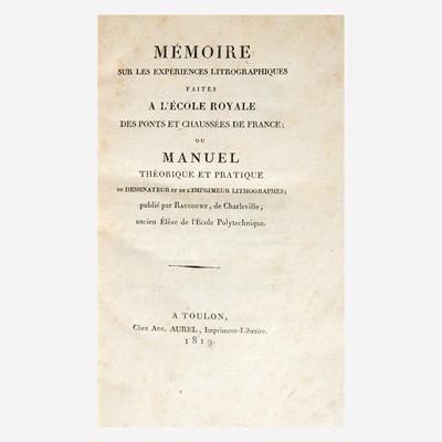 Lot 110 - [Printing] Charleville, Antoine Raucourt de