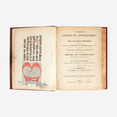 Lot 114 - [Printing] Senefelder, Alois