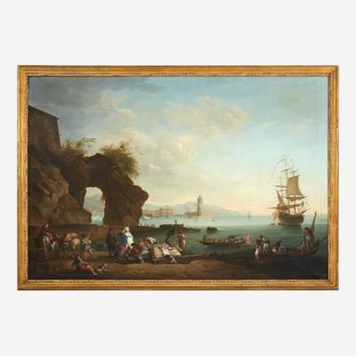 Lot 35 - Manner of Claude Joseph Vernet (French, 1714–1789)