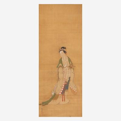 Lot 182 - Kano Eisen'in Furunobu (Japanese b.1696-d.1731) 狩野永川
