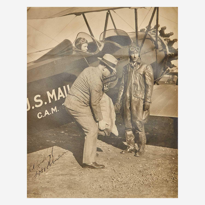 Lot 23 - [Aviation] Lindbergh, Charles