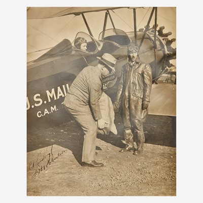 Lot 23A - [Aviation] Lindbergh, Charles