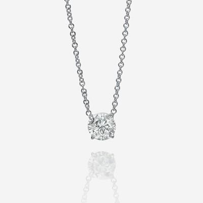 Lot 96 - A diamond pendant