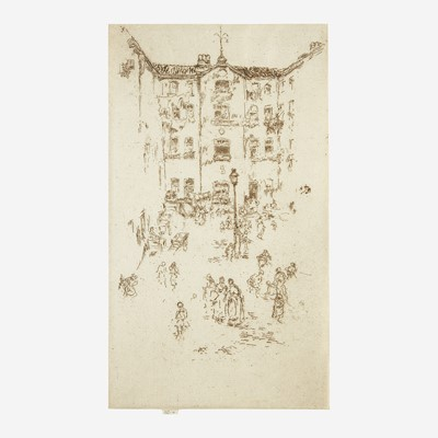 Lot 1 - James Abbott McNeill Whistler (American, 1834–1903)