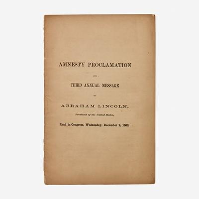 Lot 98 - [Presidential] Lincoln, Abraham