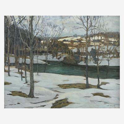 Lot 56 - Walter Elmer Schofield (American, 1867–1944)