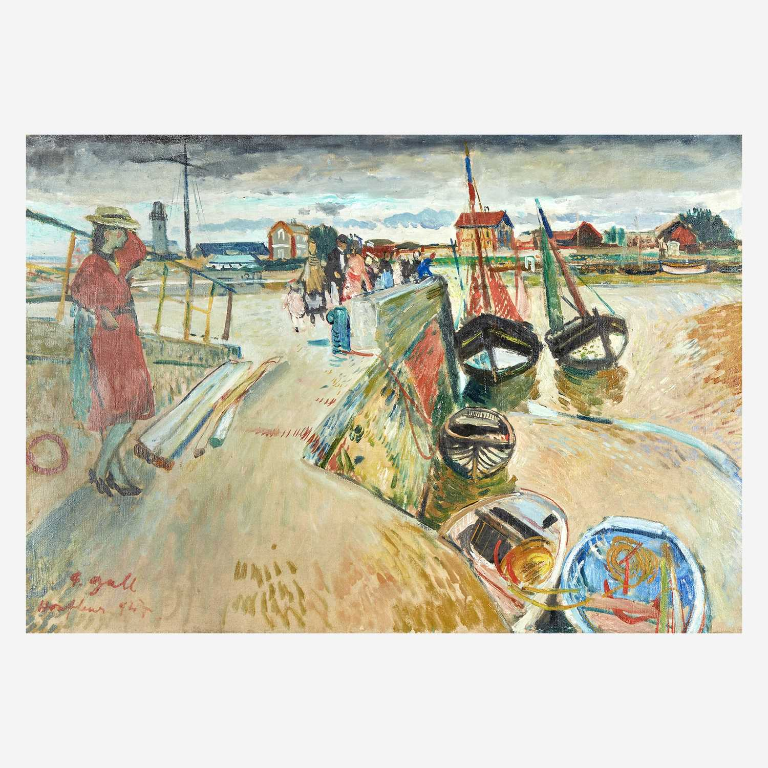 Lot 20 - François Gall (Hungarian/French, 1912-1987)