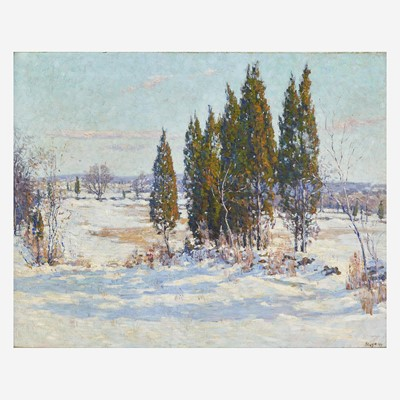Lot 52 - Roy Cleveland Nuse (American, 1885–1975)