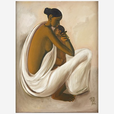 Lot 30 - B. Prabha (Indian, 1933-2001)