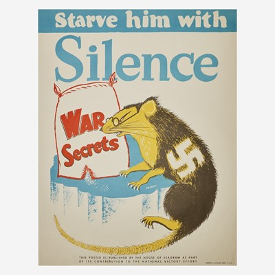Lot 70 - [Posters] [World War II] Goff, Seymour R. (Ess-ar-gee)