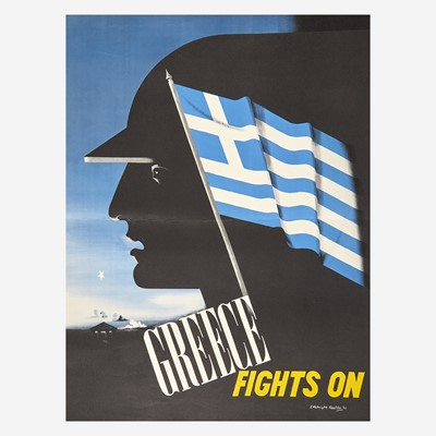 Lot 75 - [Posters] [World War II] Kauffer, E. McKnight