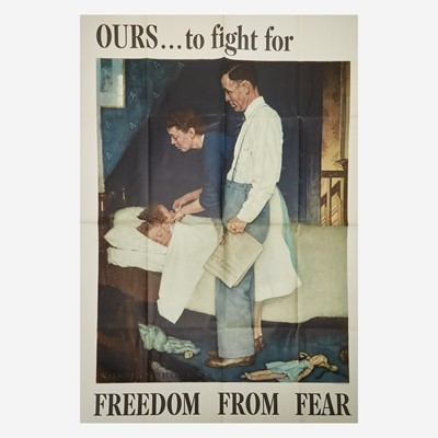 Lot 82 - [Posters] [World War II] Rockwell, Norman
