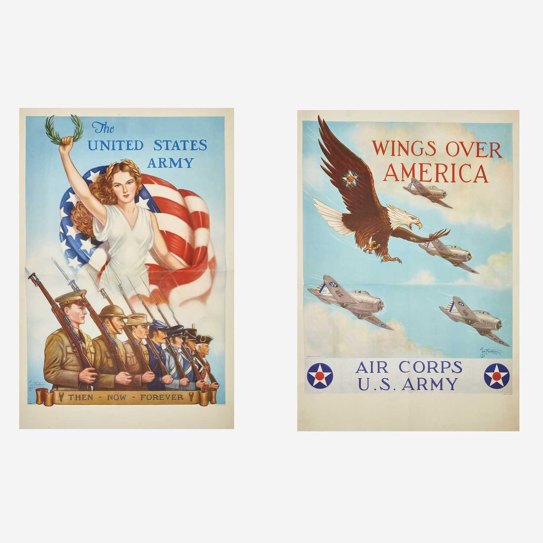 Lot 88 - [Posters] [World War II] Woodburn, Tom