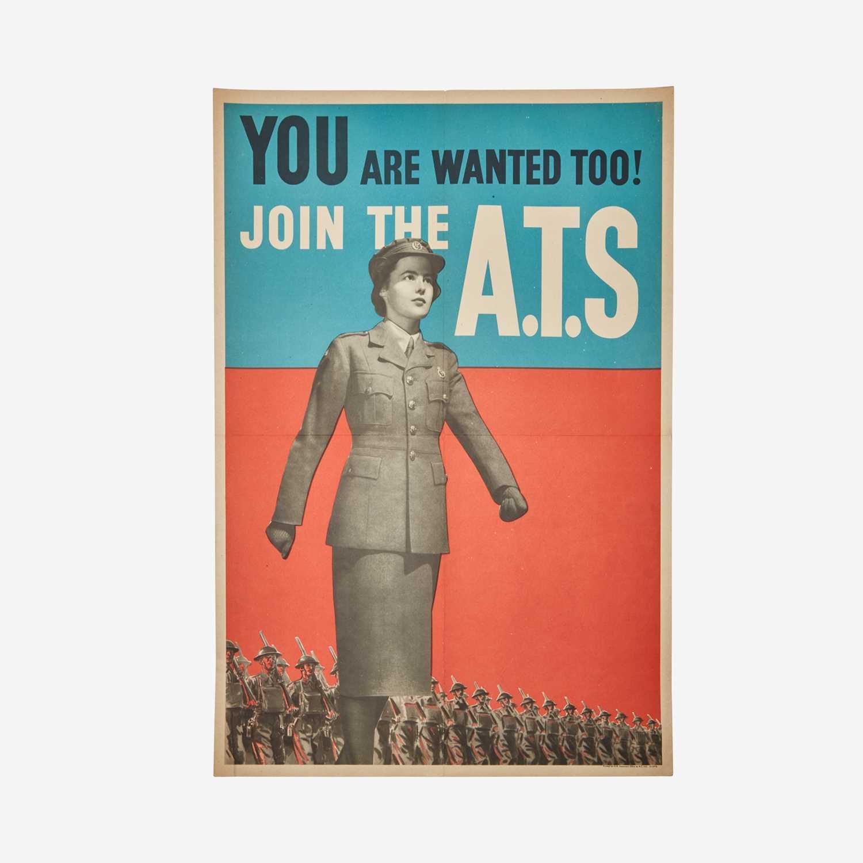 Lot 90 - [Posters] [World War II]