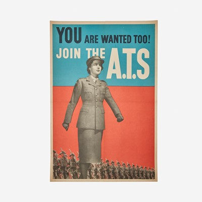 Lot 90 - [Posters] [World War II]