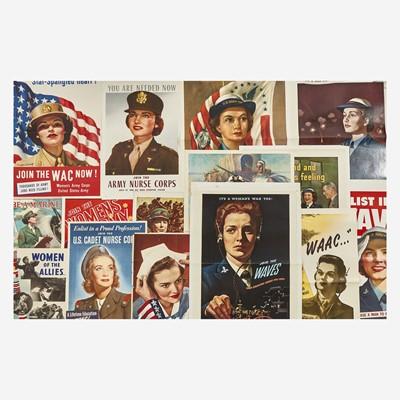 Lot 87 - [Posters] [World War II]