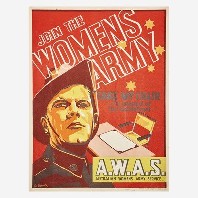 Lot 87 - [Posters] [World War II]