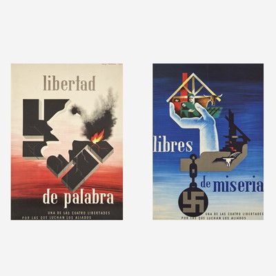 Lot 55 - [Posters] [World War II] Brodovitch, Alexey