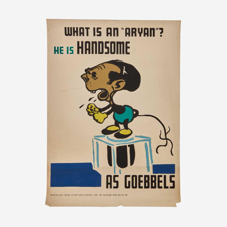 Lot 65 - [Posters] [World War II] Efimov, E. Boris
